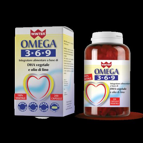 Omega 3-6-9 Benessere per cuore e circolazione Winter