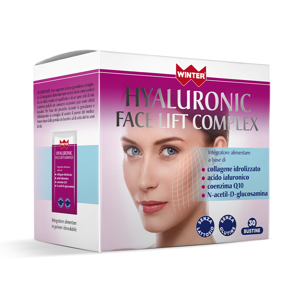 Hyaluronic Face Lift Complex Integratori alimentari Winter