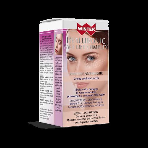 Crema Contorno Occhi Hyaluronic Face Lift Complex Contorno occhi Winter