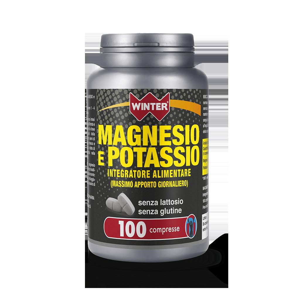 Magnesio e Potassio Multivitaminici e Minerali Winter