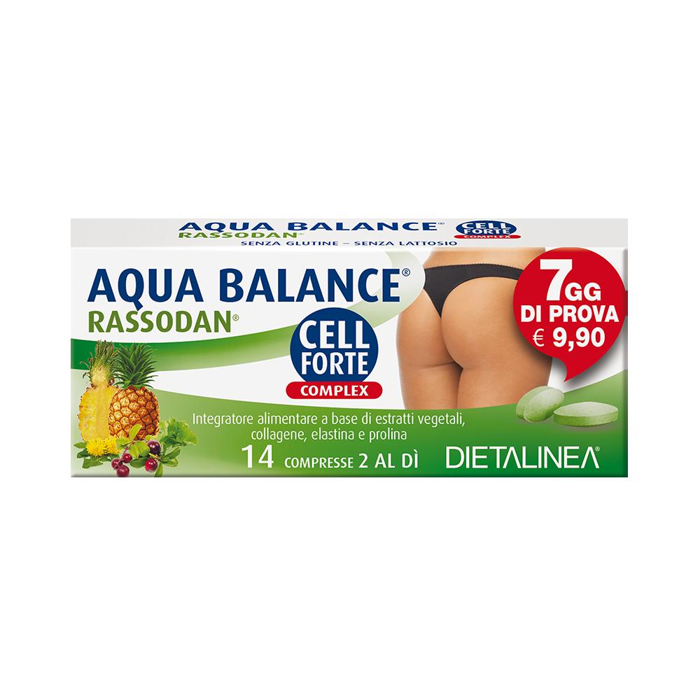 Aqua Balance Rassodan Cell Forte Complex 7 Days Drenaggio liquidi corporei Dietalinea