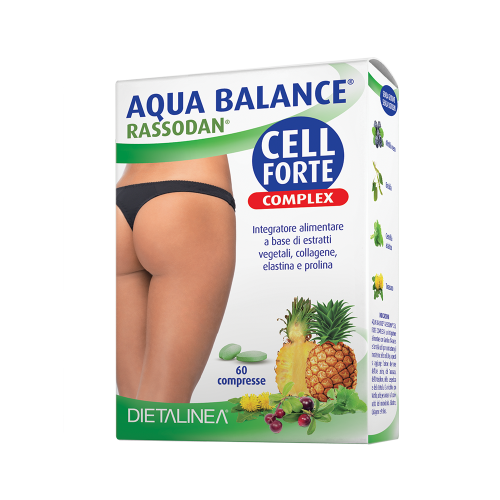 Aqua Balance Rassodan Cell Forte Complex Drenaggio liquidi corporei Dietalinea