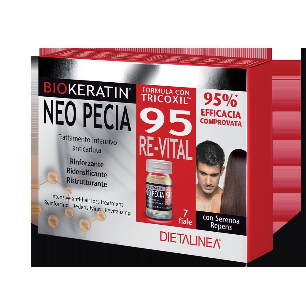 Biokeratin Neo Pecia 95 7 flaconcini Trattamenti specifici Dietalinea