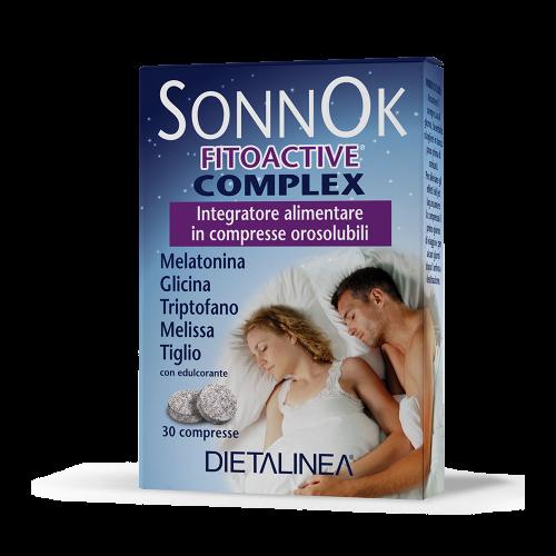 SonnoK Fitoactive Complex Rilassamento e riposo notturno Dietalinea