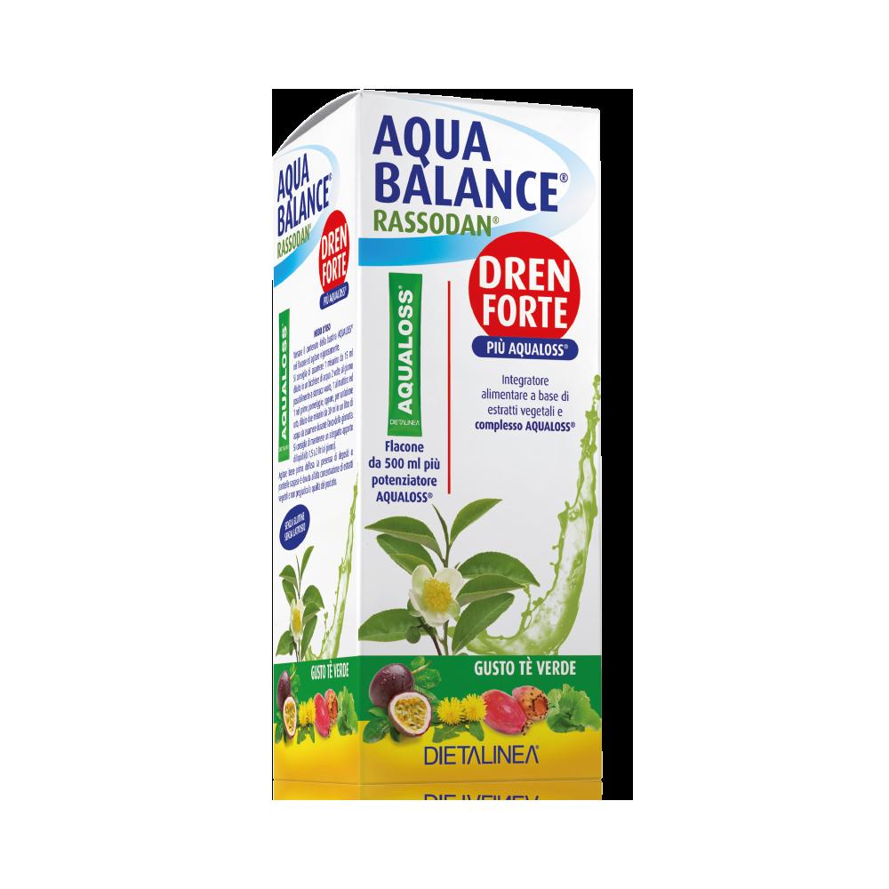 Aqua Balance Rassodan Dren Forte Tè Verde Drenaggio liquidi corporei Dietalinea